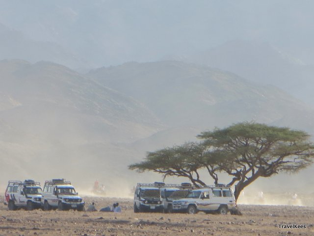 egypte woestijn safari bij marsa alam