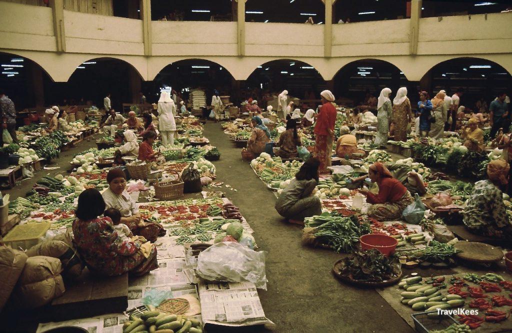overdekte markt, Kota Bharu