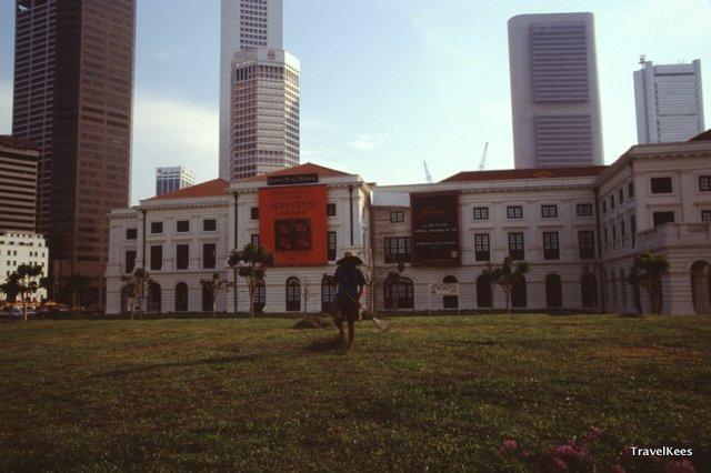 Empress Place building Singapore
