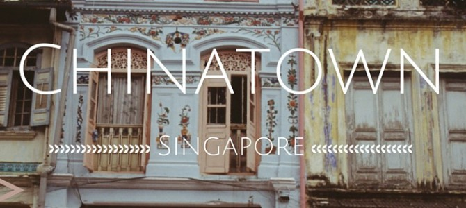 Chinatown in Singapore: een culturele smeltpot