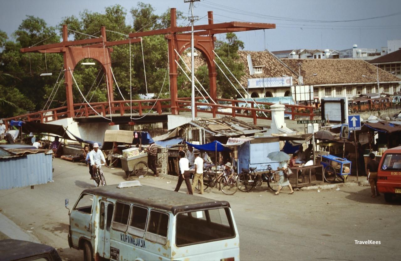 oude ophaalbrug, jakarta oude stad