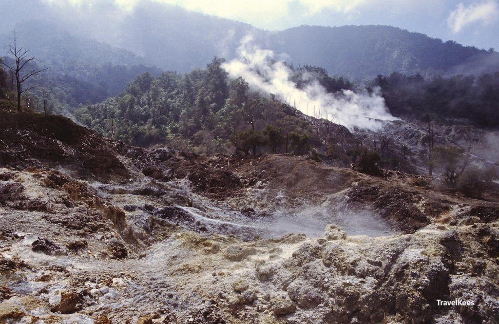 vulkanische activiteit bij gunung salak