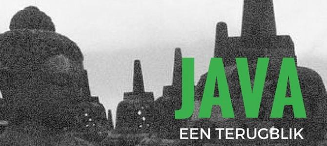 Terugblik op Java in Yogyakarta