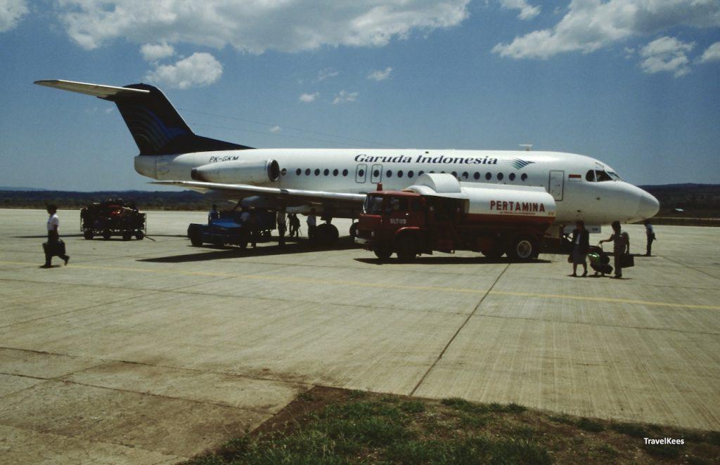 luchthaven van kupang, fokker F28