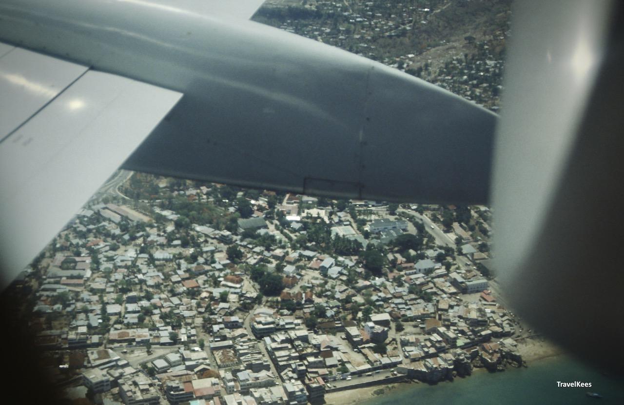 kupang vanuit het vliegtuig