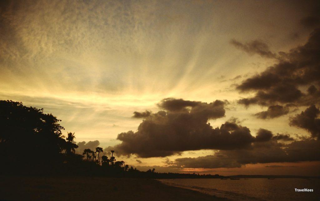 zonsondergang timor