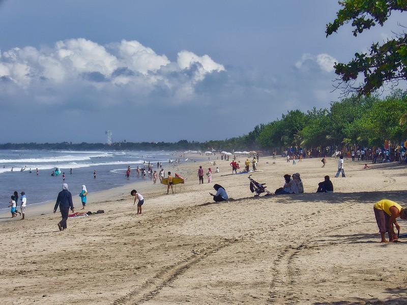 strand van kuta, bali