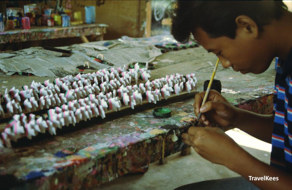 houtsnijwerk op Bali