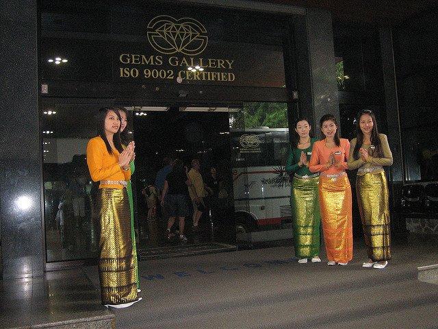 opgelicht op reis in juwelierswinkel, bangkok