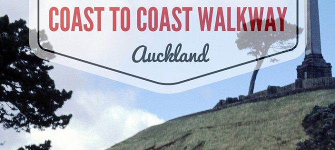 De Coast to Coast Walkway in Auckland