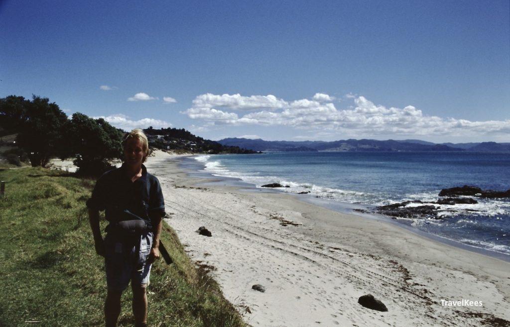 strand bij whitianga, coromandel