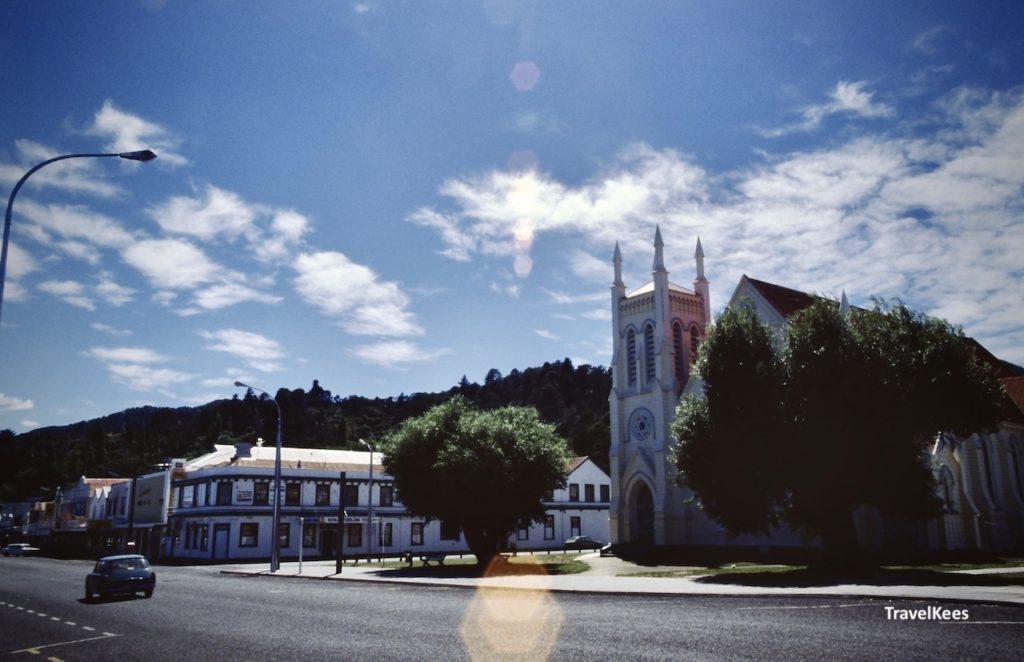 kerk in thames, nieuw-zeeland