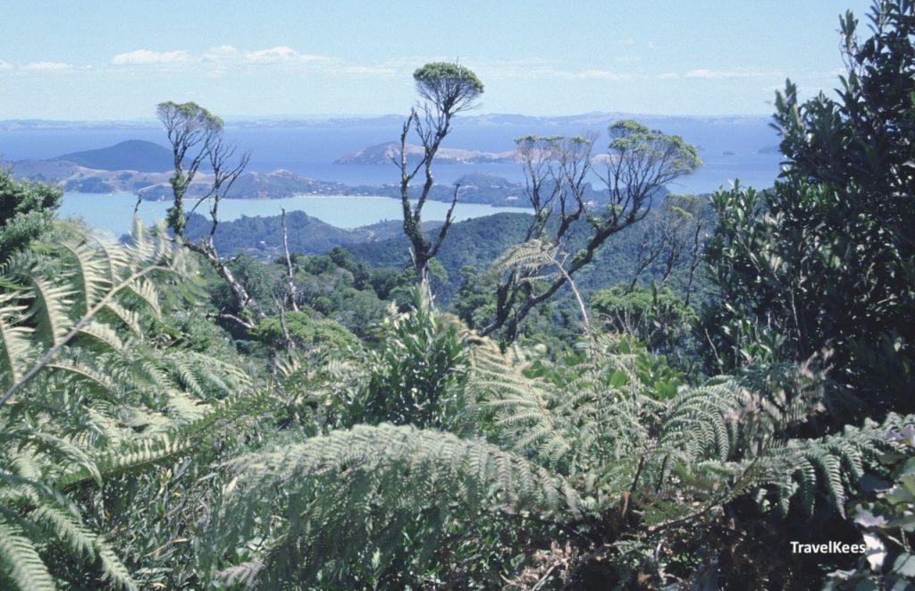 panorama coromandel schiereiland