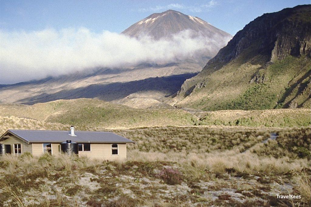 Mangatepopo hut, tongariro