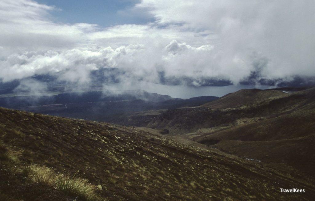 uitzicht vanuit de ketatahi hut,