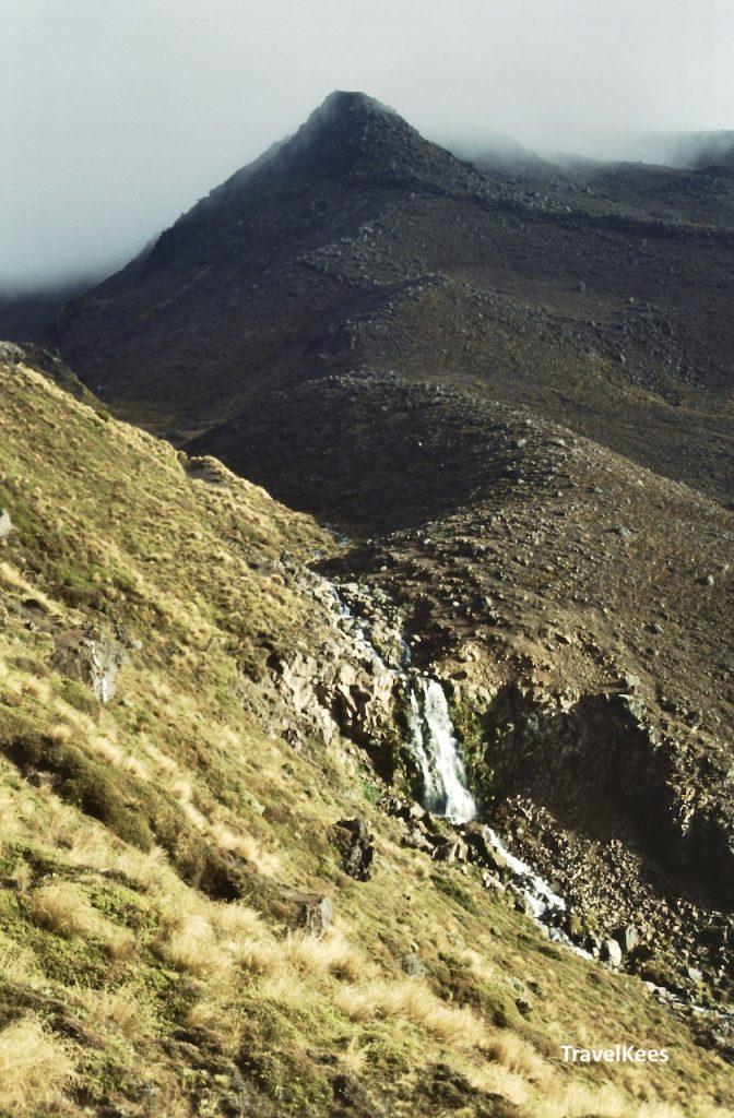 waterval in tongariro national park,