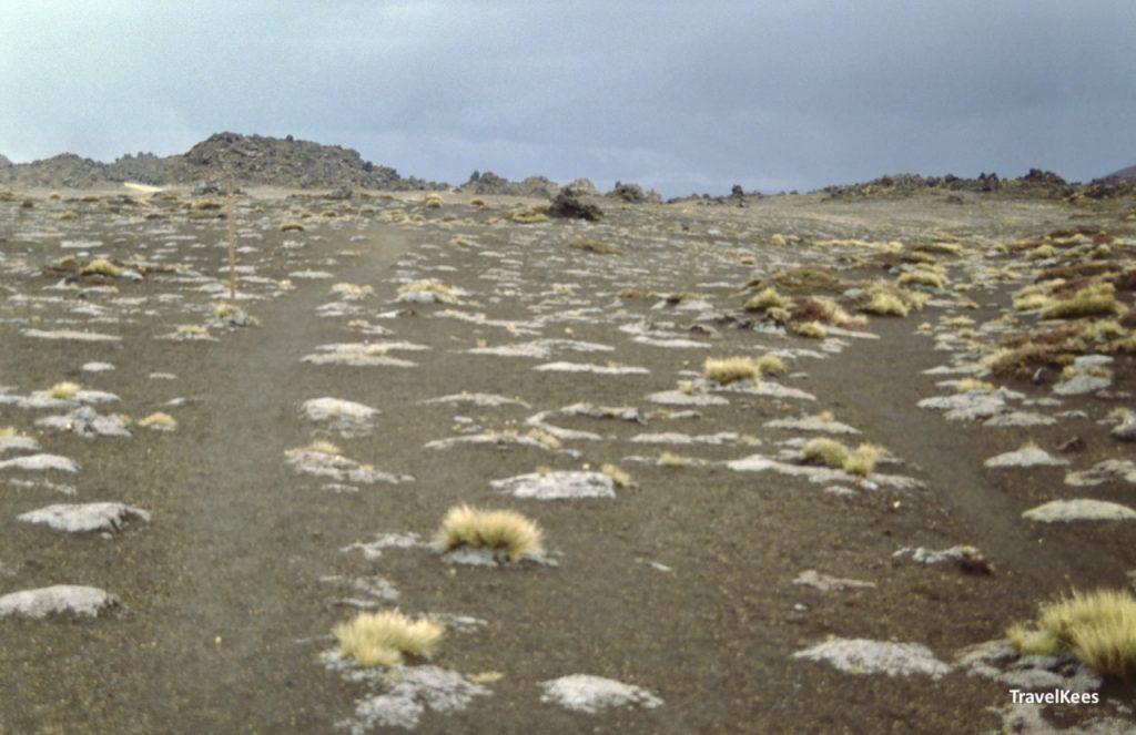 vulkanisch landschap