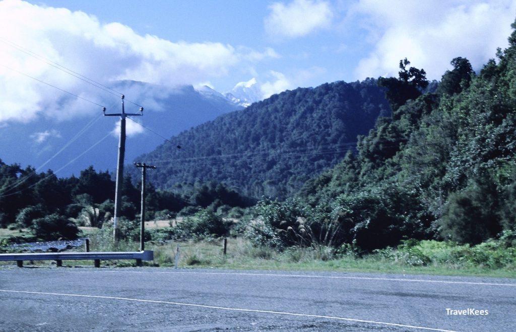 Haast highway, mount tasman