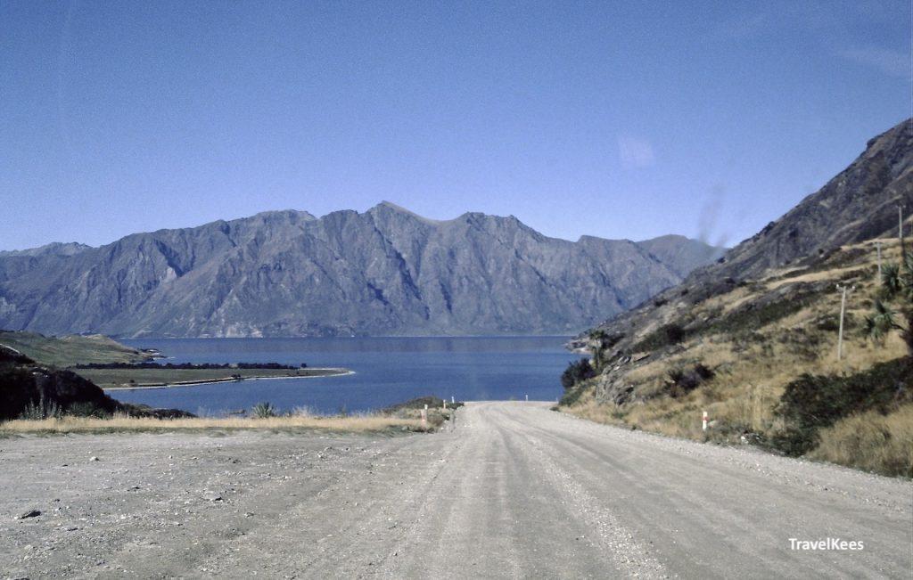 lake hawea, haast pass road