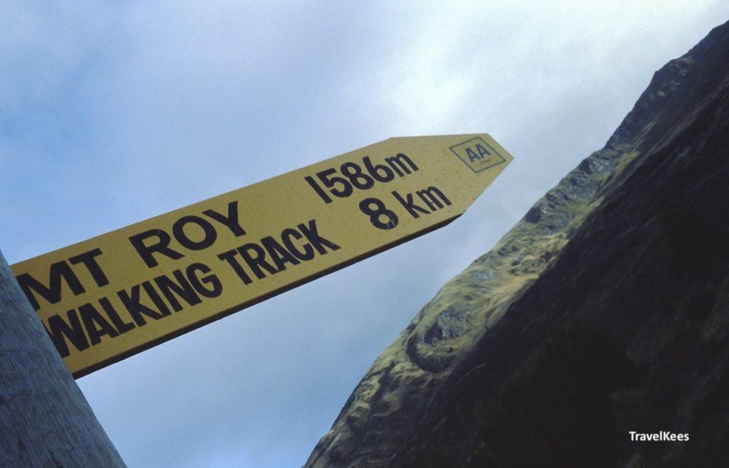 wegwijzer Mr Roy