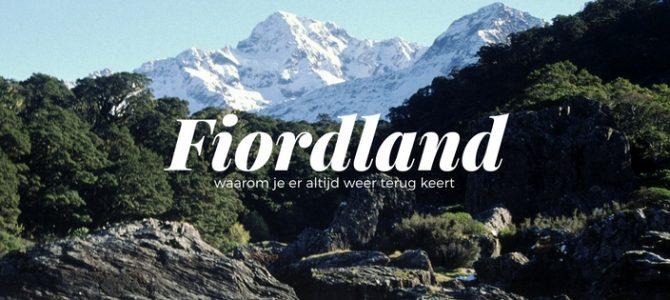 Heimwee naar Fiordland National Park