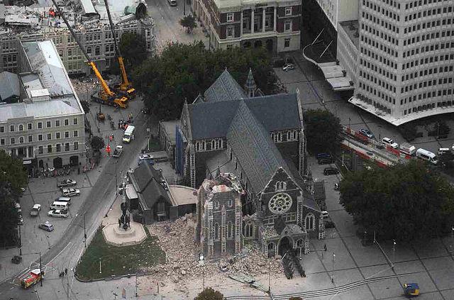 christchurch aardbeving