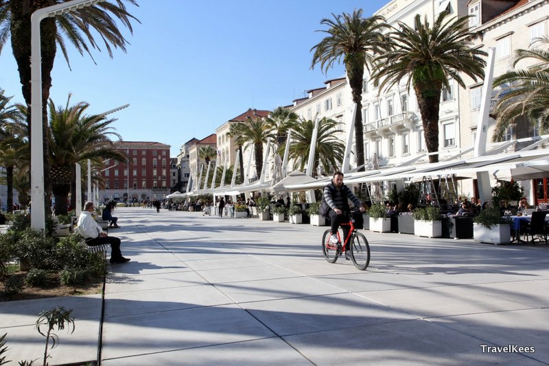 Riva boulevard, Split
