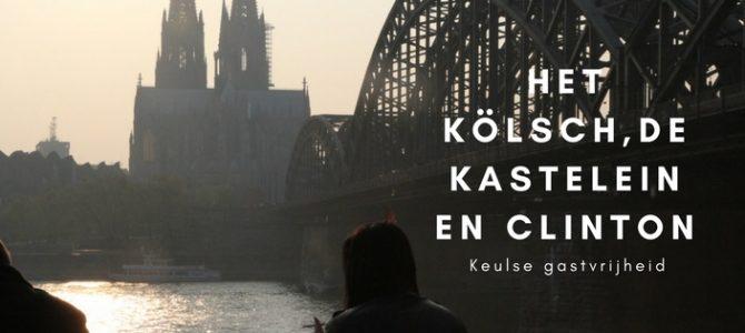Het kölsch, de kastelein en Clinton: Keulse gastvrijheid