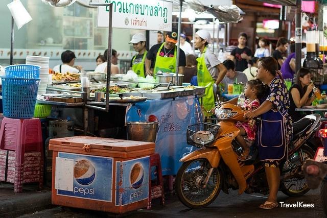 eetstalletjes van Bangkok