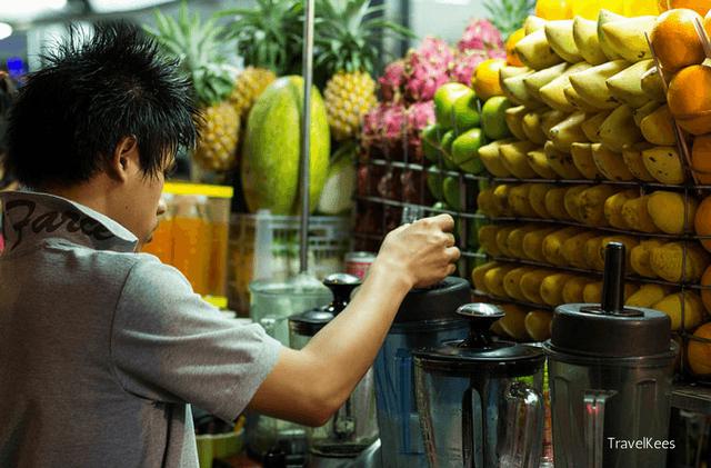 eetstalletjes van Bangkok, soi rambuttri