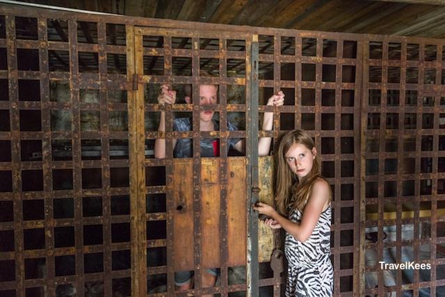 gevangenis, Dobbys Frontier Town, Nebraska