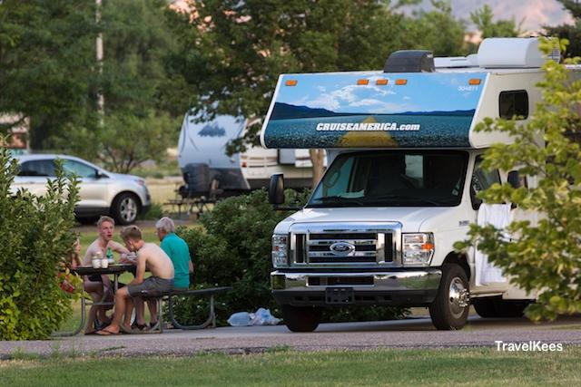 camping, camper, Nebraska