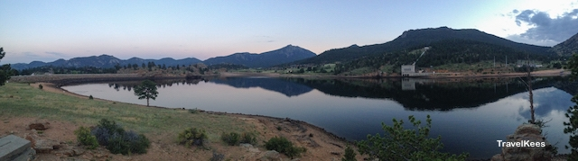 estes park, marys lake