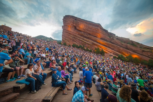 denver red rocks amphitheatre