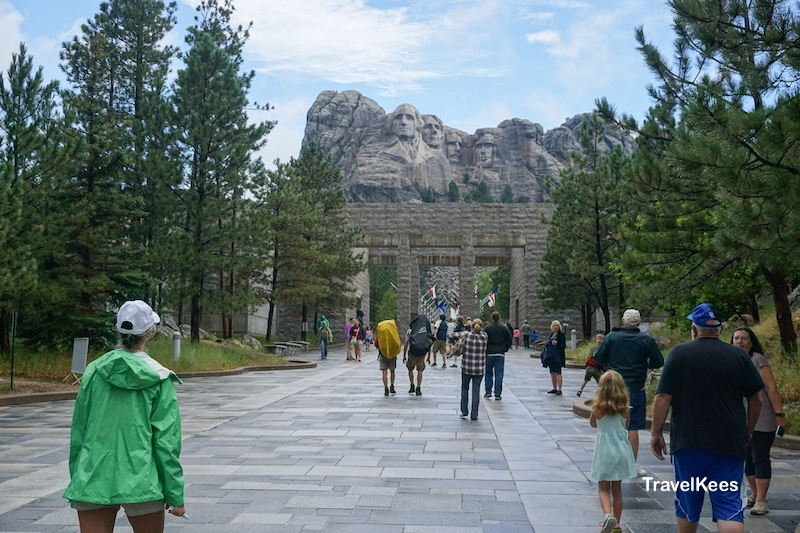 entrance, Mount Rushmore