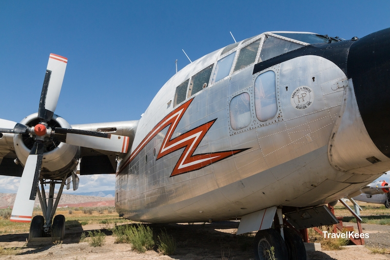 fairchild c-119, museum of flight and aerial firefighting, Wyoming