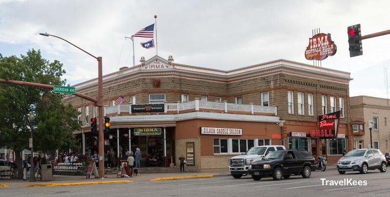 Irma Hotel, Cody, Wyoming, Buffalo Bill