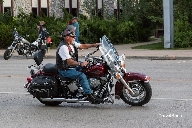 Cody, Wyoming, biker
