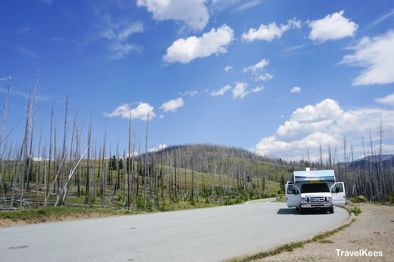 yellowstone, national park, camper