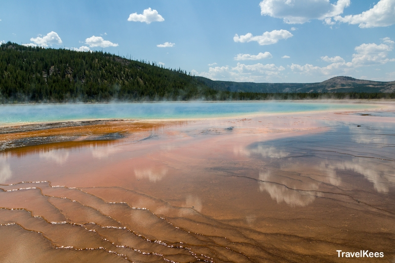 yellowstone, grand prismatic spring, national park
