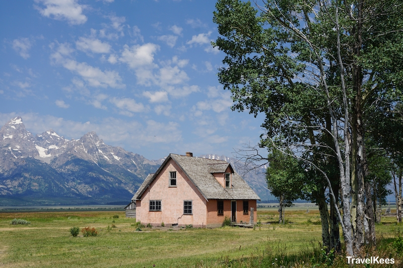 Grand Teton, national park, Mormon Row, Antelope Flats,