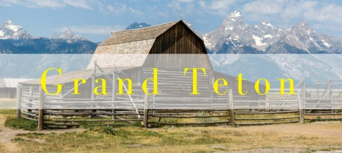 Grand Teton National Park, het outdoor eldorado