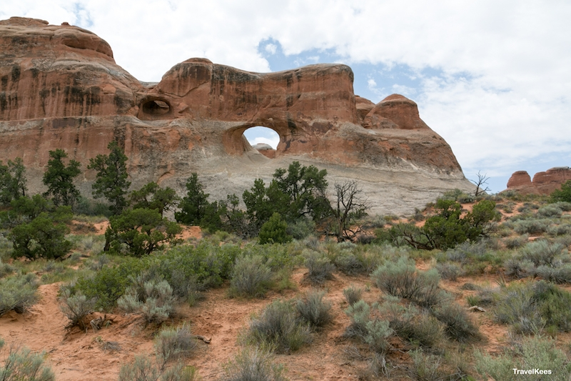 arches, national park, arches national park, tunnel arch,