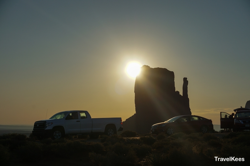 monument valley, zonsopkomst, sunrise