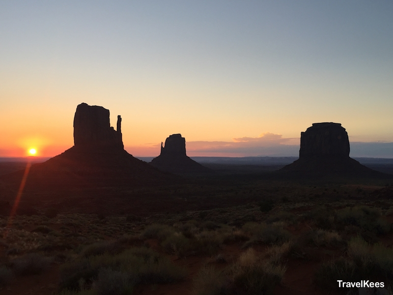monument valley, sunrise, zonsopkomst