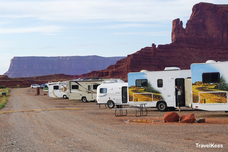 monument valley, camping, campground, camper