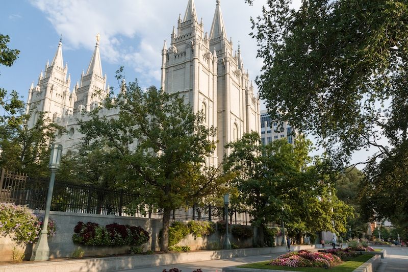salt lake city, salt lake temple, mormons
