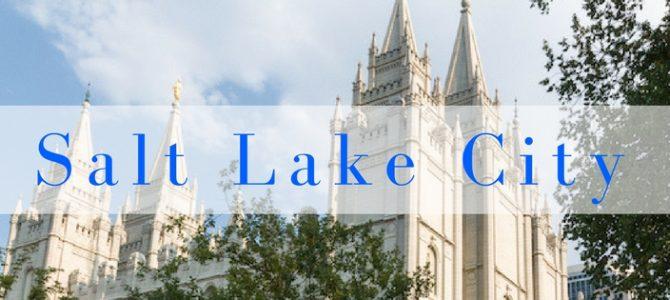 Salt Lake City, het heiligdom van de mormonen