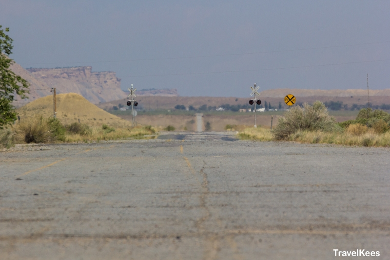 crescent junction, utah, desert road