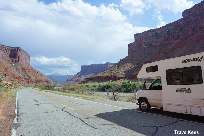 us128, river road, utah, scenic byway
